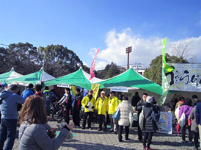 奈良マラソン2014 特別ガイド実施